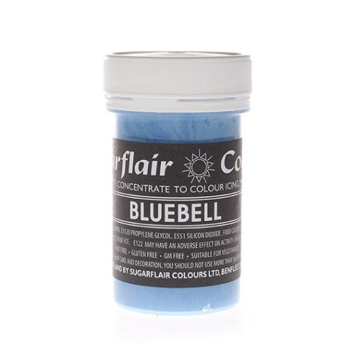 Sugarflair Paste Colours, 25g, Bluebell