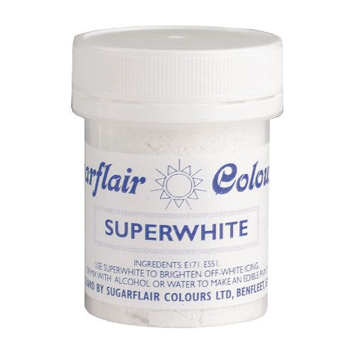 Sugarflair Icing Whitener, Superwhite, 20g