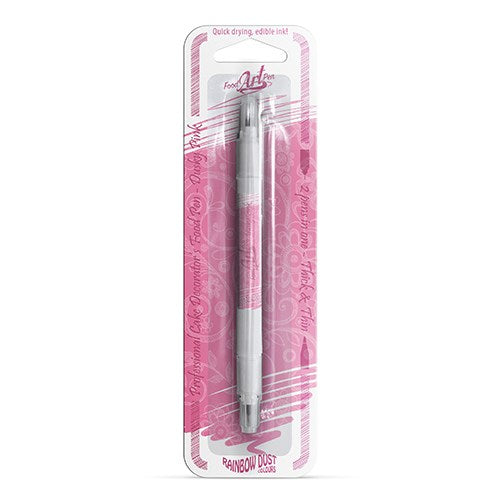 Rainbow Dust Food Art Pen, Dusky Pink