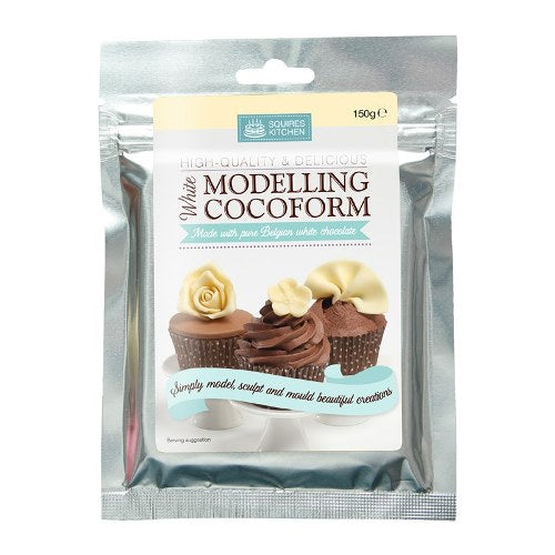 Squires Kitchen Modelling Cocoform, 150g, White Chocolate