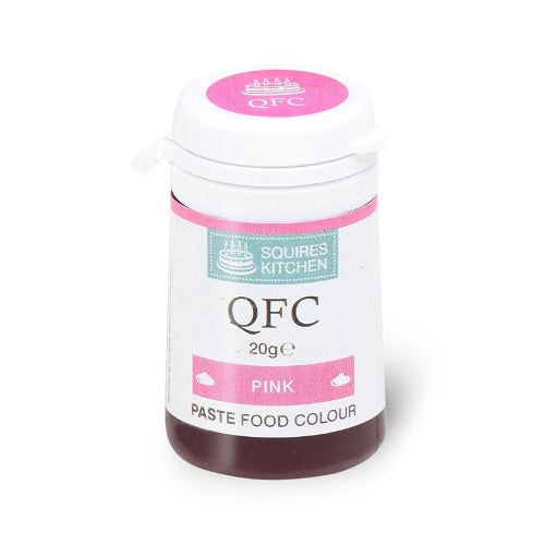 Squires Kitchen QFC Quality Food Paste, 20g, Pink
