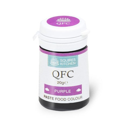 Squires Kitchen QFC Quality Food Paste, 20g, Purple