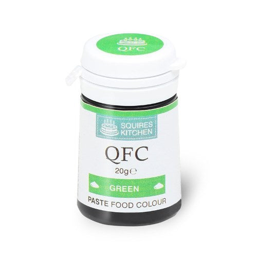 Squires Kitchen QFC Quality Food Paste, 20g, Green