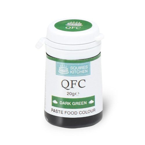 Squires Kitchen QFC Quality Food Paste, 20g, Dark Green