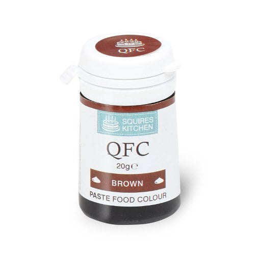Squires Kitchen QFC Quality Food Paste, 20g, Brown