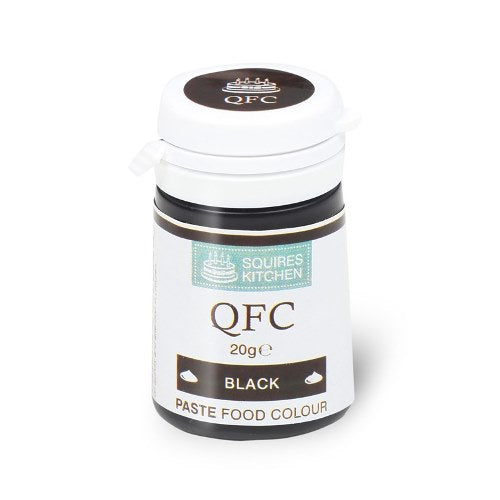 Squires Kitchen QFC Quality Food Paste, 20g, Black