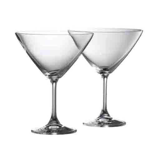 Galway Crystal Clarity Martini, Set of 2