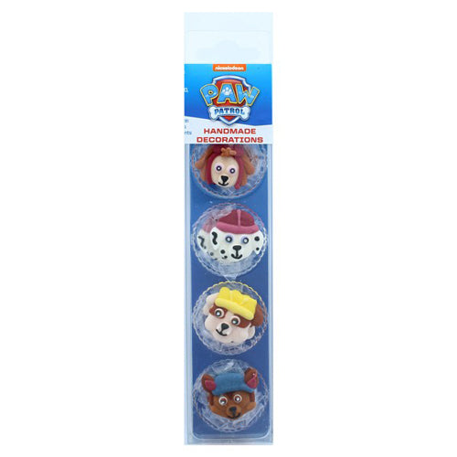 Paw Patrol Sugarcraft Cake Toppers, Pack Of 8