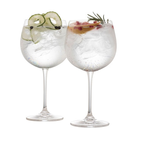 Galway Crystal Gin & Tonic Glasses, Set Of 2