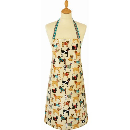 Ulster Weavers PVC Wipeable Apron, Hound Dog
