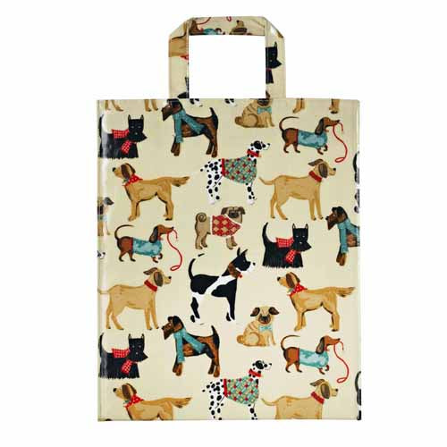 Hound Dog PVC Shopping Bag