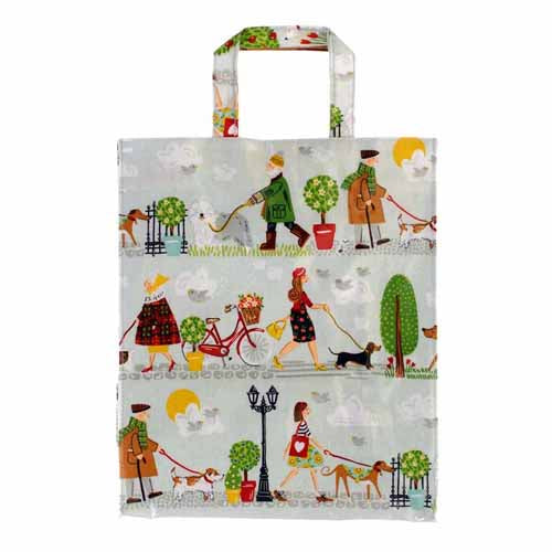 'Walkies' PVC Shopping Bag