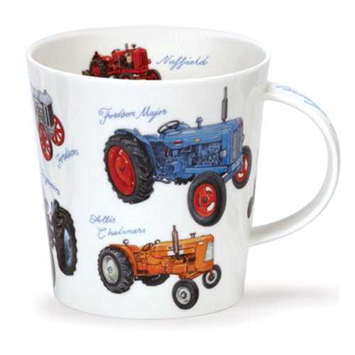 Dunoon Fine Bone China Mug 'Classic Collection, Tractors'