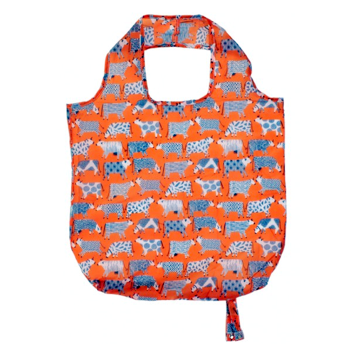 Curious Cats Foldable/Roll Up Shopping Bag