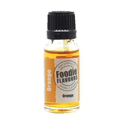 Foodie Flavours Natural Food Flavouring, 15ml, Orange