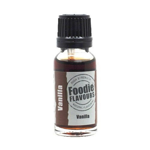 Foodie Flavours Natural Food Flavouring, 15ml, Vanilla