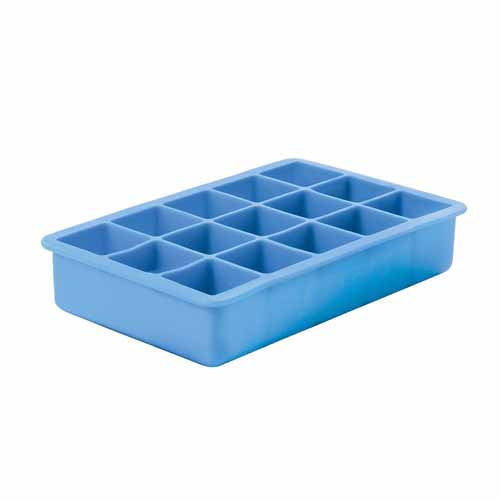 Classic Silicone Ice Cube Tray, 15 Cup