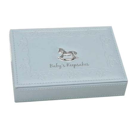 Baby Keepsake Box, Blue