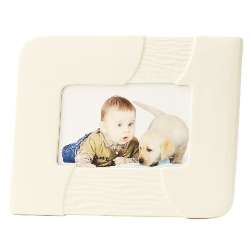 "Belleek Living Sandwave Frame, 4"" x 6"