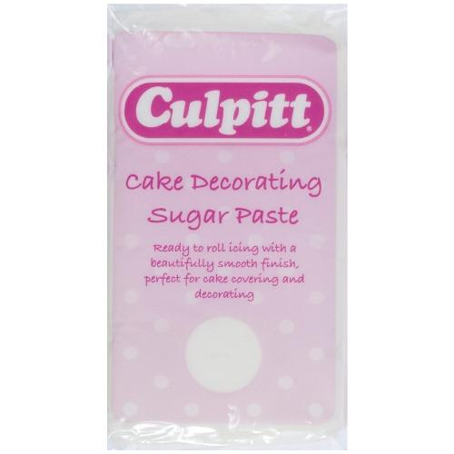 Culpitt Ready To Roll Icing,1kg,  Brilliant White