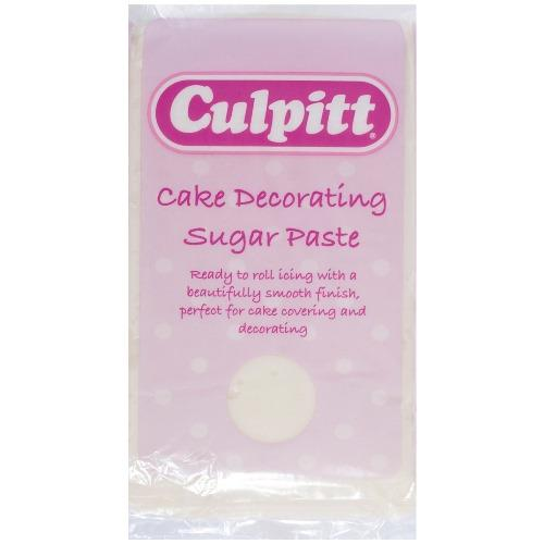 Culpitt Ready To Roll Icing,1kg,  Ivory