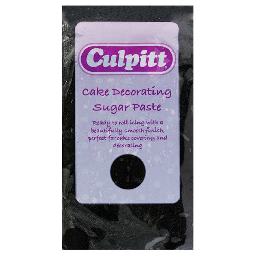 Culpitt Ready To Roll Icing, 1kg, Black