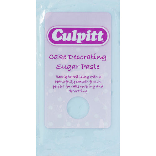 Culpitt Ready To Roll Icing, 1kg, Light Blue