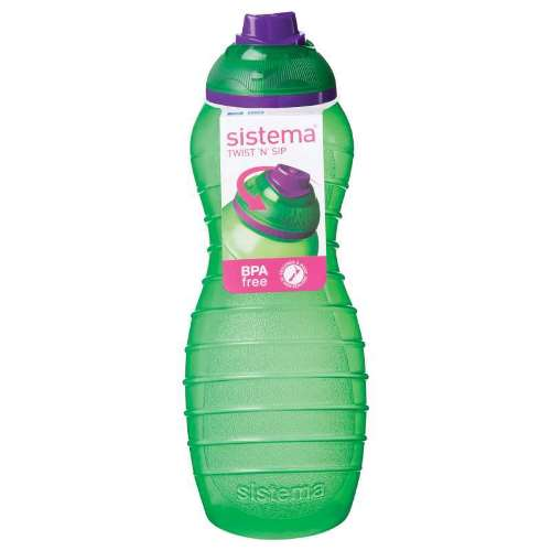 Sistema Twist 'N' Sip Davina Bottle, 700ml, Green