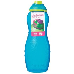 Sistema Twist 'N' Sip Davina Bottle, 700ml, Aqua