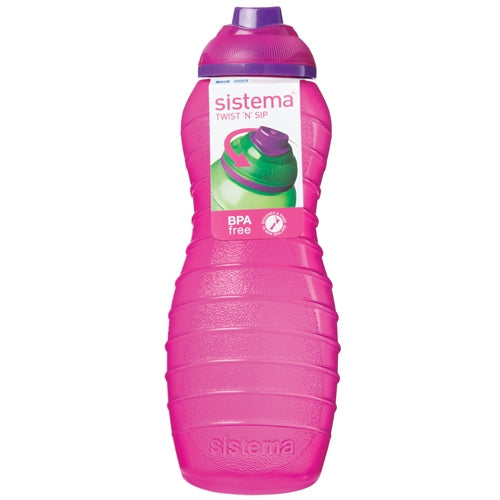 Sistema Twist 'N' Sip Davina Bottle, 700ml, Pink