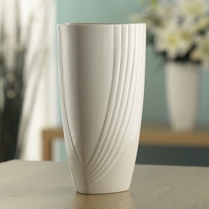 Belleek Living Chic Triangular Vase, 12""