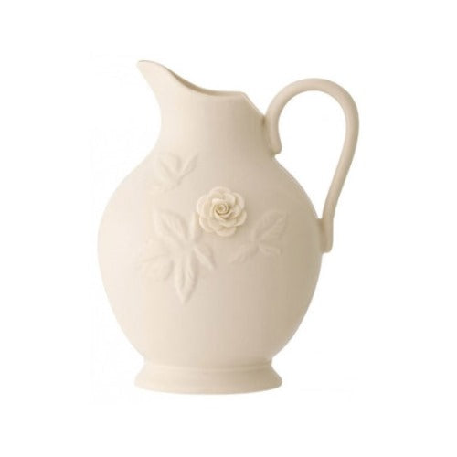 Belleek Living Rose Pitcher, 9""