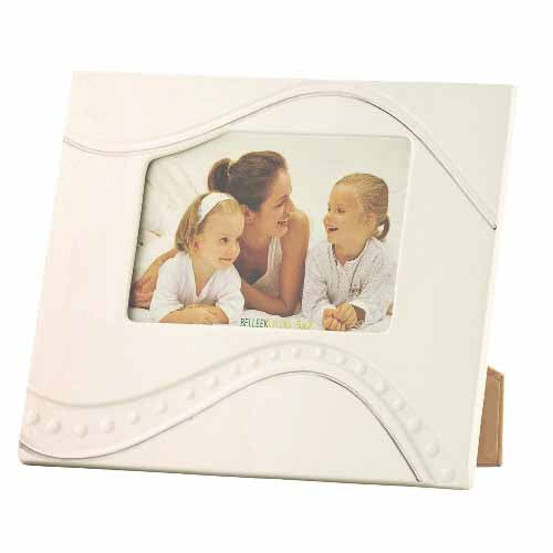 "Belleek Living Silver Ripple Frame, 5"" x 7"""