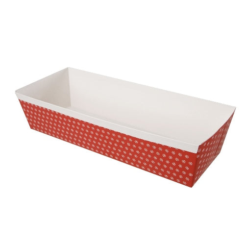 Christmas Paper Loaf Pan, 2lb, 5 Piece