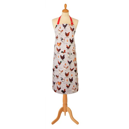 Chicken & Egg Cotton Apron