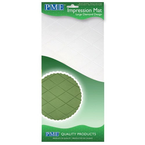 PME Diamond Impression Mat, Large
