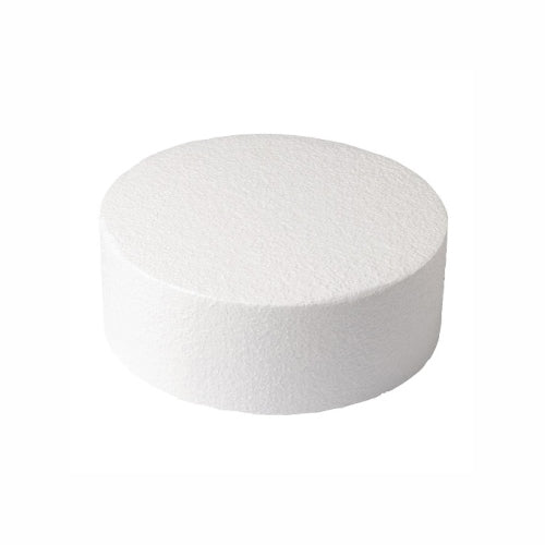 "Round Cake Dummy, Straight Edge, 4"" x 3"""