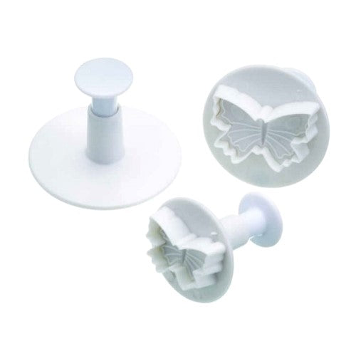 Cake Star Plunger Cutters, Set Of 3, Butterfly