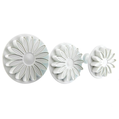 Culpitt Plunger Cutters, Set Of 3, Sunflower