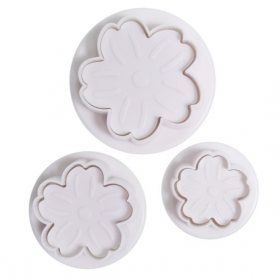 Cake Star Plunger Cutters, Set Of 3, Primrose