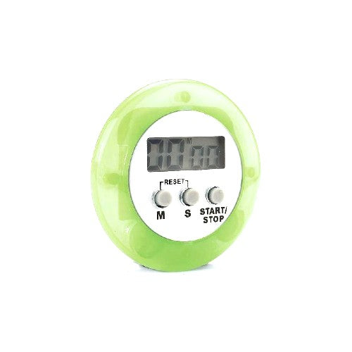 Magnetic Digital Kitchen Timer, Green