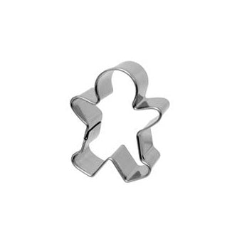 Gingerbread Boy Cookie Cutter, 5.5cm