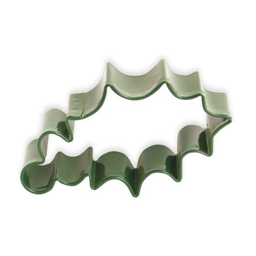 Eddingtons Green  Holly Leaf Cookie Cutter, 7.25cm