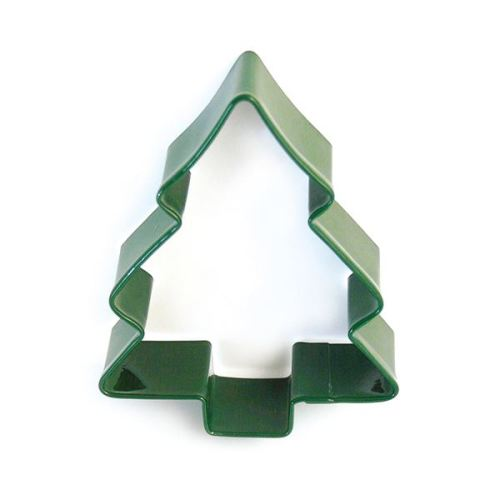 Eddingtons Green Christmas Tree Cookie Cutter, 9cm