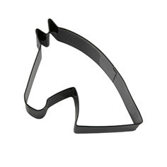 Eddingtons Black Horse Head Cookie Cutter