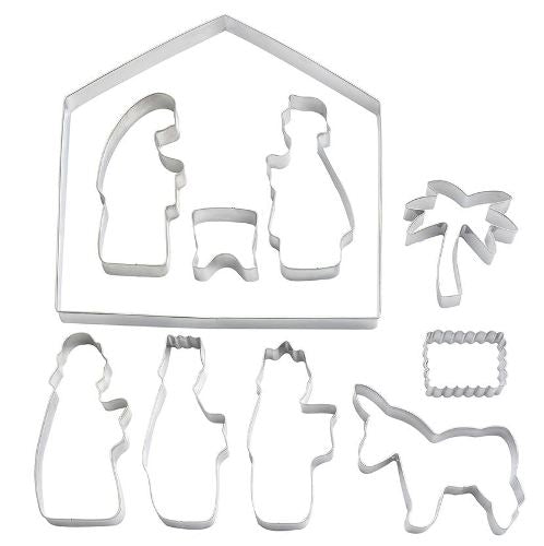 Eddingtons Christmas Nativity Cookie Cutters, Set Of 10