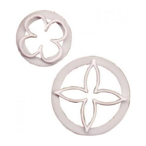 FMM Fuchsia Cutters, Set Of 2