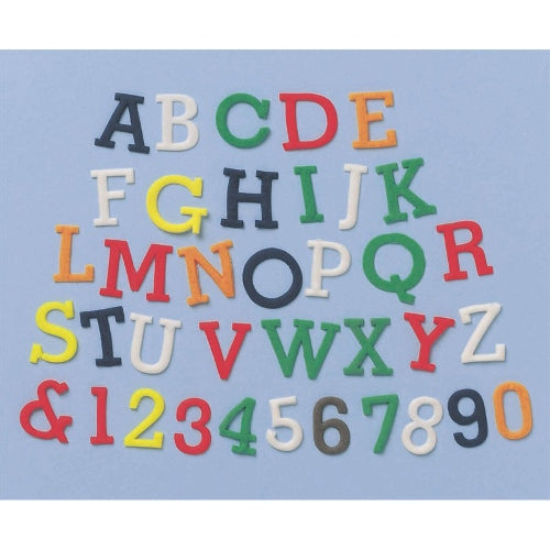 FMM Alphabet & Number Upper Case Tappit Set