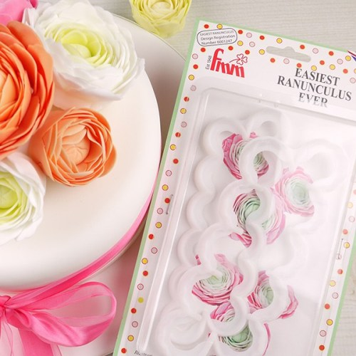 FMM Easiest Ranunculus Ever Cutter, Set Of 2
