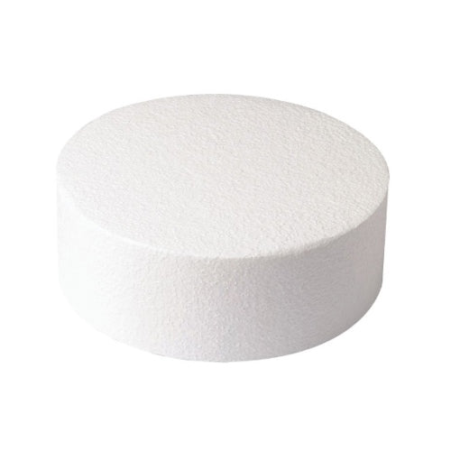 "Round Cake Dummy, Straight Edge, 6"" x 3"""